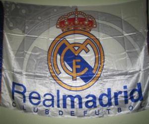 Puzzle Drapeau de Real Madrid
