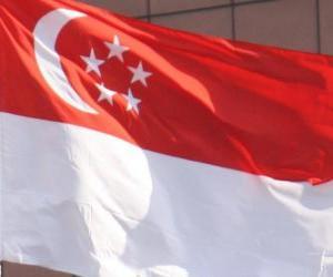 Puzzle Drapeau de Singapour