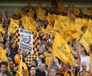 Puzzle Drapeau de Wolverhampton Wanderers F.C.
