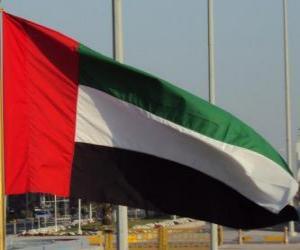 Puzzle Drapeau des Émirats Arabes Unis