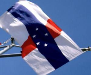 Puzzle Drapeau des Antilles Néerlandaises