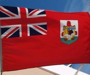 Puzzle Drapeau des Bermudes