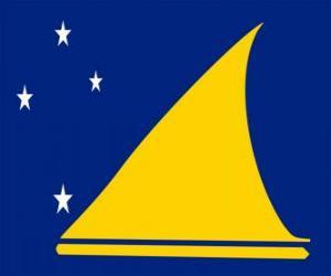 Puzzle Drapeau des Tokelau