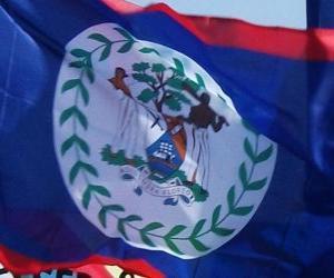 Puzzle Drapeau du Belize
