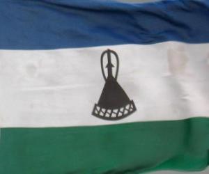 Puzzle Drapeau du Lesotho