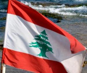 Puzzle Drapeau du Liban