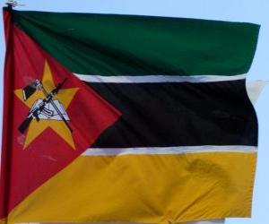 Puzzle Drapeau du Mozambique