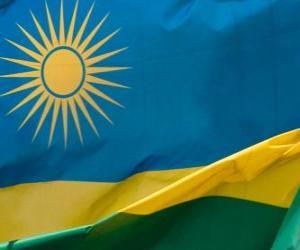 Puzzle Drapeau du Rwanda