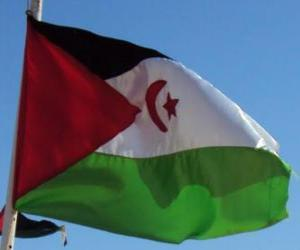 Puzzle Drapeau du Sahara Occidental