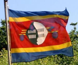 Puzzle Drapeau du Swaziland