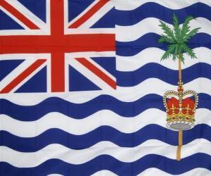 Puzzle Drapeau du Territoire britannique de l'océan Indien
