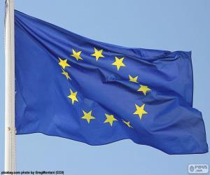 Puzzle Drapeau européen
