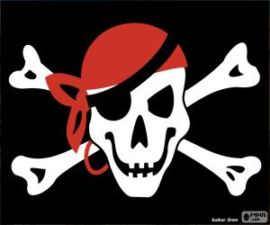 Puzzle Drapeau pirate Jolly Roger