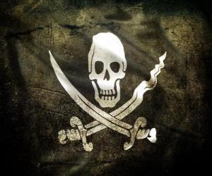 Puzzle Drapeau pirate