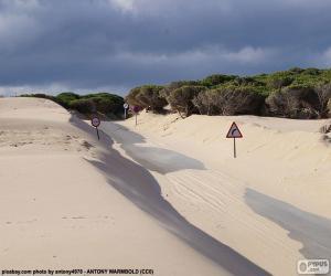 Puzzle Dunes, route