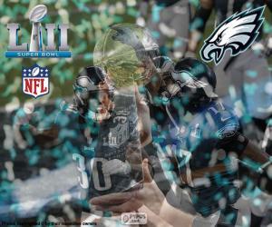 Puzzle Eagles, Super Bowl 2018