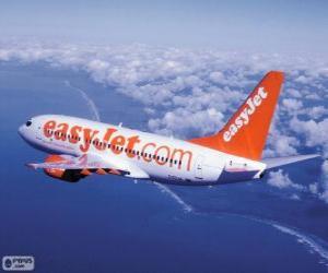 Puzzle easyJet est une compagnie aérienne britannique