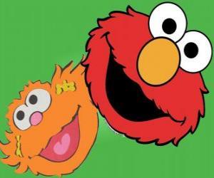 Puzzle Elmo et Zoé