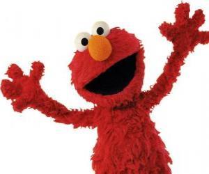 Puzzle Elmo sourire
