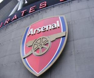Puzzle Emblème de Arsenal F.C.