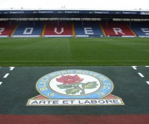 Puzzle Emblème de Blackburn Rovers F.C.