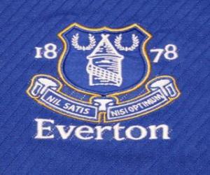 Puzzle Emblème de Everton F.C.