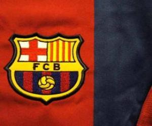 Puzzle Emblème de F. C. Barcelona