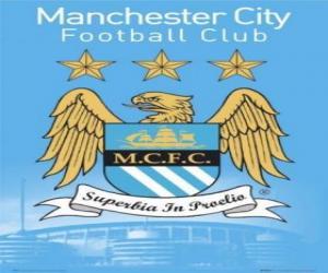 Puzzle Emblème de Manchester City F.C.