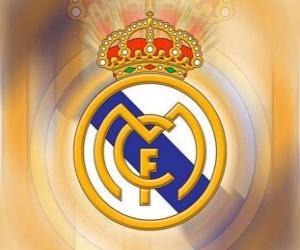 Puzzle Emblème de Real Madrid