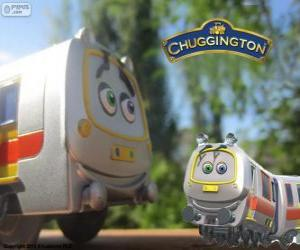 Puzzle Emery, le Train Rapid de Chuggington