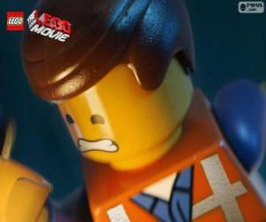 Puzzle Emmet de La Grande Aventure Lego
