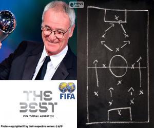 Puzzle Entraîneur de l'année FIFA 2016