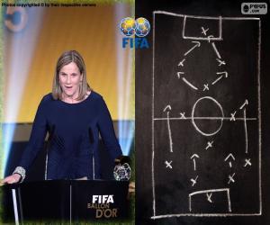 Puzzle Entraîneur féminin FIFA 15