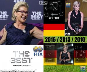 Puzzle Entraîneur féminin FIFA 2016