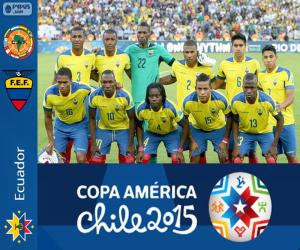 Puzzle Equateur Copa América 2015