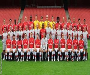 Puzzle Équipe de Arsenal F.C. 2009-10