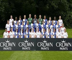 Puzzle Équipe de Blackburn Rovers F.C. 2009-10