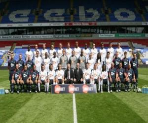 Puzzle Équipe de Bolton Wanderers F.C. 2008-09