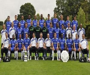 Puzzle Équipe de Chelsea F.C. 2008-09