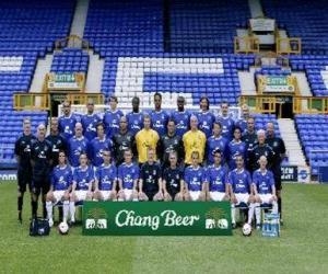 Puzzle Équipe de Everton F.C.