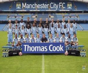 Puzzle Équipe de Manchester City F.C. 2007-08