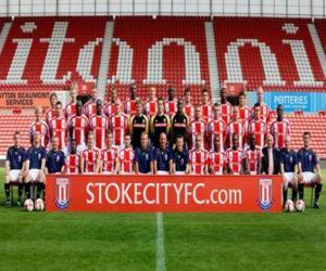 Puzzle Équipe de Stoke City F.C. 2008-09