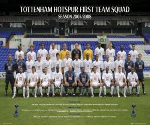 Puzzle Équipe de Tottenham Hotspur F.C. 2007-08