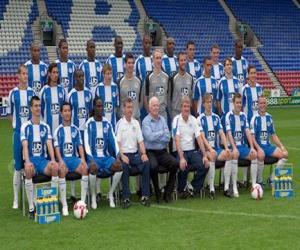 Puzzle Équipe de Wigan Athletic F.C.