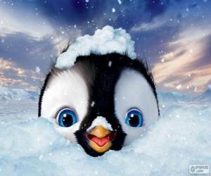 Puzzle Erick est le personnage principal, Happy Feet 2