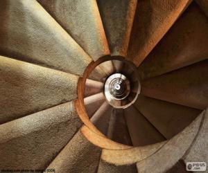 Puzzle Escalier en colimaçon