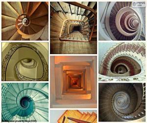 Puzzle Escaliers