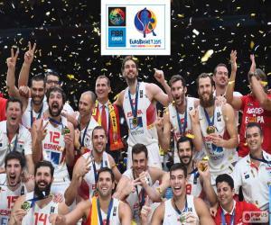 Puzzle Espagne, EuroBasket 2015