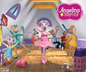 Puzzle Essai Angelina Ballerina