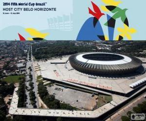 Puzzle Estádio Mineirão (69.950), Belo Horizonte